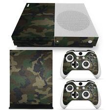 XBOX ONE S Skin Design Foils Aufkleber Schutzfolie - Camouflage 3 Motiv