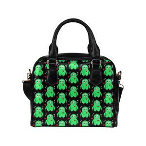 Zombie Sloth Ladies Small Handbag, Crossbody bag, Punk Alternative Horror Cute