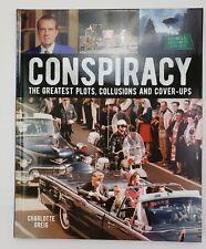 Conspiracy Book 9781788885478 Charlotte Greig 128 pages Illuminati Freemasons