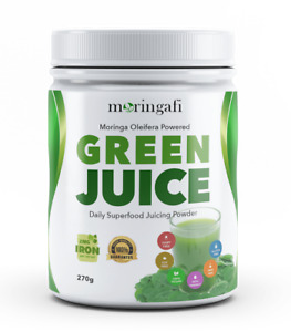 Green Juice by Moringafi | Best Australian Green Juice Superfood Powder (270g)