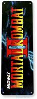 Mortal Kombat 2 Arcade Sign, Classic Arcade Game Marquee Tin Sign A509