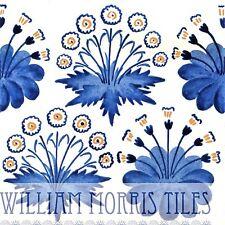 William Morris Daisy Azulejo de la Pared para Baño Cocina O Chimenea Azul O Verde