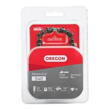Oregon S40 10 in. Semi Chisel Chain Saw Chain Fits Craftsman, Echo, Ryobi, more