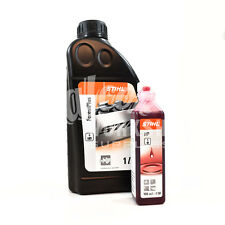 STIHL FORESTPLUS CHAINSAW OIL FOR BAR AND CHAIN 1 LITRE + ONE SHOT 100ml OIL