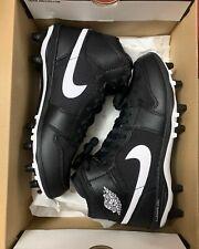 Air Jordan 1 Black TD Cleats size 8