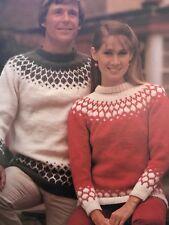 FU25 - Knitting Pattern - Men's & Women's Chunky Jumpers - Christmas