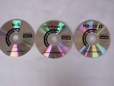3 CD de la nicebeats synth-Line Music Sample Collection format AKAI
