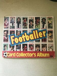 RARE TOPPS FOOTBALL CARD COLLECTION 81/82, 100% complete,