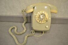 Altes Post Wählscheiben Telefon FeWAp 612  04.78 Kieselgrau  grau