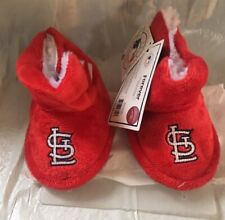 St. Louis Cardinals Toddler Boot Bootie Slippers NEW - Free U.S.A. Shipping