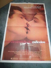 ENDLESS LOVE(1981)BROOKE SHIELDS ORIGINAL ONE SHEET POSTER+