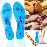 Unisex Magnetic Massage Shoe Insoles Acupressure Health Medical Therapy Inserts