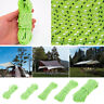 Glow at Dark Reflective Guyline Tent Rope Guy Line Camping Cord Paracord