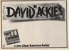 David Ackles American Gothic LP advert Time Out cutting 1972