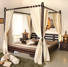 himmelbett in braun g nstig kaufen ebay. Black Bedroom Furniture Sets. Home Design Ideas