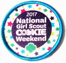 New National Girl Scout Cookie Weekend Patch 2017