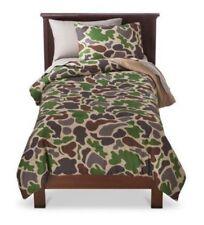 Circo CAMO Collection 6 pcs Twin Bed Set ~ Comforter, Sham, bedskirt & Sheet Set