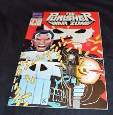 The Punisher War Zone # 1 (Marvel Mar 1992) Die-Cut Wraparound Cover High Grade