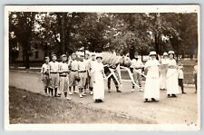 Northwestern College~NWC Booster Day~Michigan Baseball Players~Biff~c1914 RPPC
