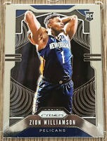 2019-20 Prizm Zion Williamson Prizm Rookie RC #248 Pelicans 🔥 One Touch