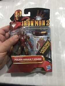 Iron Man Two Power Assault Armor New In Box Hasbro Tony Stark