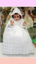 Vestido Tejido color Blanco Vestido Niño Dios Baby Jesus Clothing