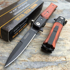 TAC-FORCE Spring Assisted Small Milanos Style Knife