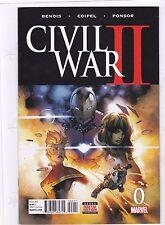 CIVIL WAR II #0 / BENDIS / COIPEL / AVENGERS / SHE-HULK / 2016 / MARVEL COMICS