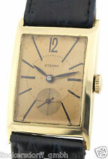 ETERNA - ART DECO - 14ct GOLD - HERREN ARMBANDUHR - 1930er JAHRE TRAUMKLASSIKER