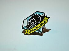 Metal Gear Solid Diamond Dogs Logo Metal Pin - Snake Phantom Pain 2 3 4 V