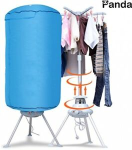 Portable Cloths Dryer Machine Compact Ventless Folding 120V Plug In Anywhere