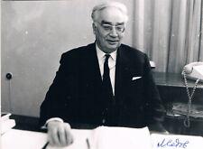 "Leonid Ivanovitch Sedov 1907-99 autograph signed 4""x6"" photo Space physicist"