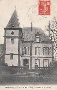 Ansichtskarte Frankreich  Brinon Sur Sauldre  (Cher)  Chateau de la Bergerie