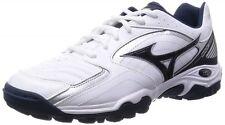 MIZUNO Unisex Handball shoes WAVE GAIA 2  X1GD1550 White X navy X silver