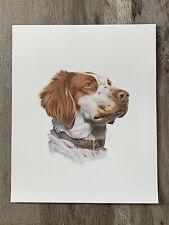Roger Cruwys - English Setter - Print - 9.5�W X 11.5�H