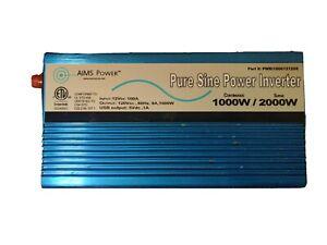 AIMS Power 1000W/2000W Pure Sine Wave Inverter