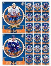 NEW YORK ISLANDERS TEAM PACK-10 CARD SIGNATURE MELD SET-TOPPS SKATE 19