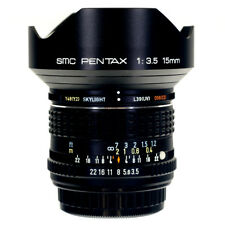 Pentax SMC 15mm F3.5 Ultra Wide Angle Manual Lens 7316769 with case and box