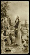 santino seppia  ediz. NB n.203 MIOLTIPLICAZIONE PANI E PESCI-LUCCA 1933