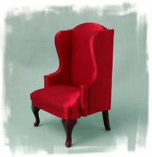 Wooden Living Room Miniature Armchairs for Dolls