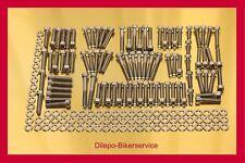 Harley Davidson V-Rod stainless steel bolt kit motor engine cover screws 178 pcs
