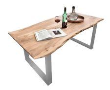 Esstisch Tisch mit Baumkante Akazie Massiv NEU Lagerware