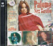 Paloma San Basilio Sus Primeros Años 1974-1978  BRAND NEW SEALED 2 CDS SET