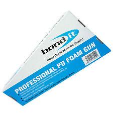 Professionnel PU Expanding Foam Gun Grade Applicateur tous les corps métallique chromé