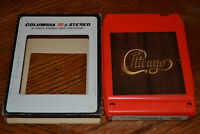 CHICAGO V 8-Track Tape 1972 Original SATURDAY IN THE PARK Plays Perfect Case