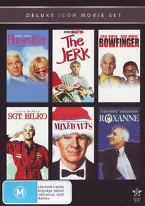 HOUSESITTER / THE JERK / BOWFINGER / SGT BILKO / MIXED NUTS / ROXANNE [NEW DVD]