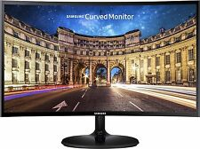 Samsung Curved LC24F390FHWXXL 23.6-inch LED Monitor (Black) with warranty..