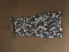Womens Forever New blue floral dress size 8