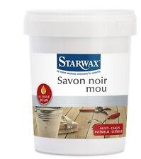 SAVON NOIR MOU PATE 1KG STARWAX nourrit protège A L' HUILE DE LIN