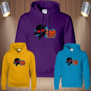Ninja Kidz Mens Hoody Gaming Kids Youtuber Merch Funny Cool Birthday Hoodie Gift
